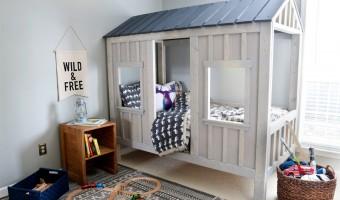 DIY Cabin Bed Finishing Tutorial