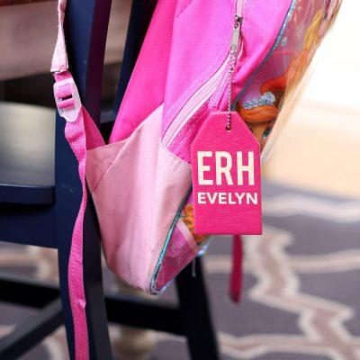 DIY Backpack Name Tags