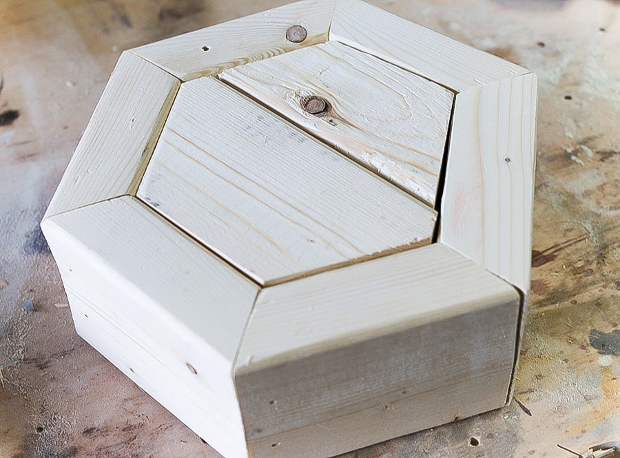 How to build a hexagon planter