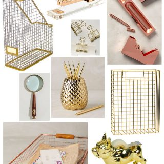 Dress your desk with these fun and stylish desk accessories