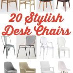 20 Stylish Desk Chairs