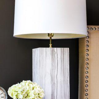 DIY Marble Table Lamp