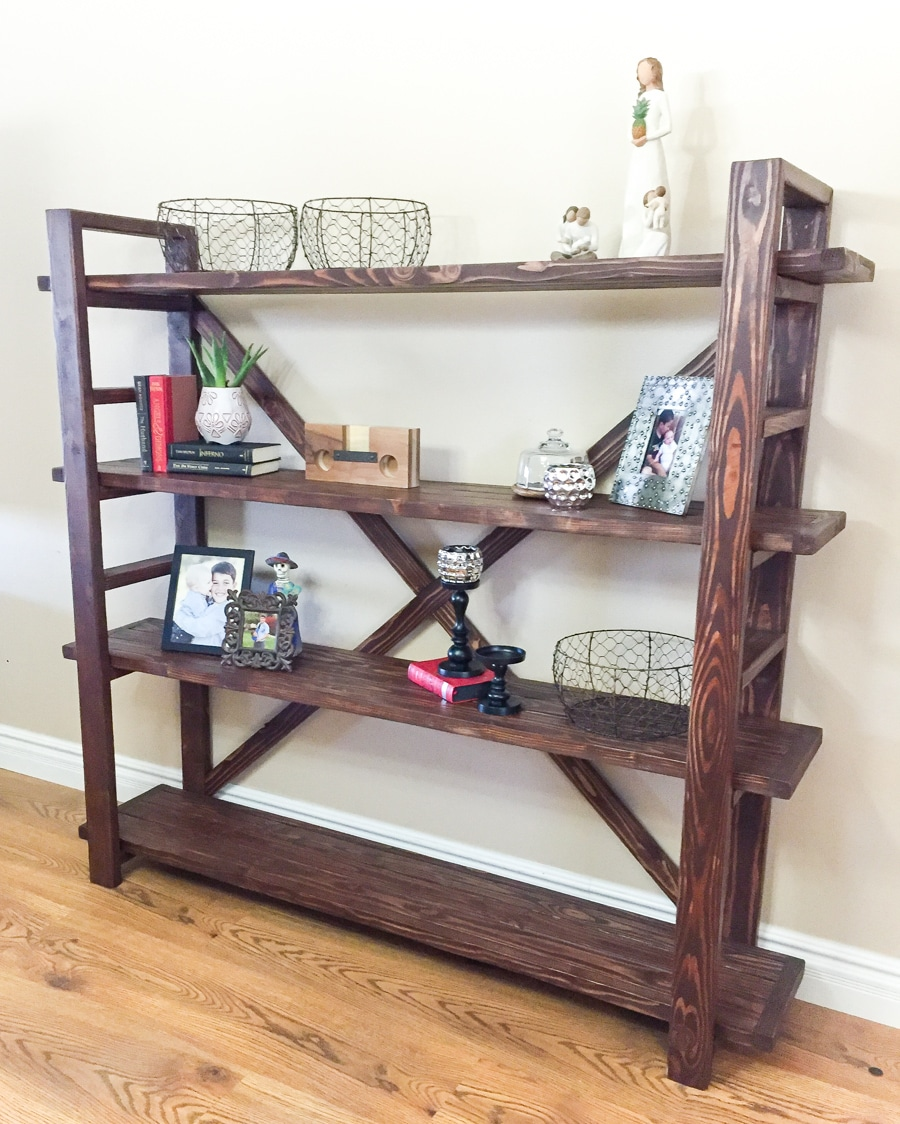 Diy bookshelf for Easy diy shelves