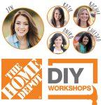 The Home Depot DIY Workshops 2016
