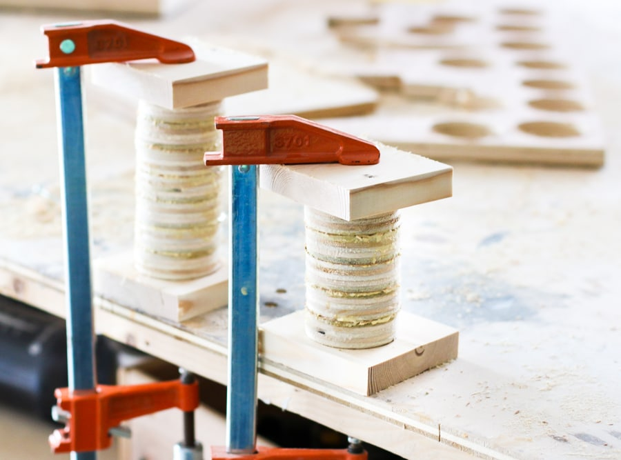 How to make DIY tea light holders out of scrap plywood