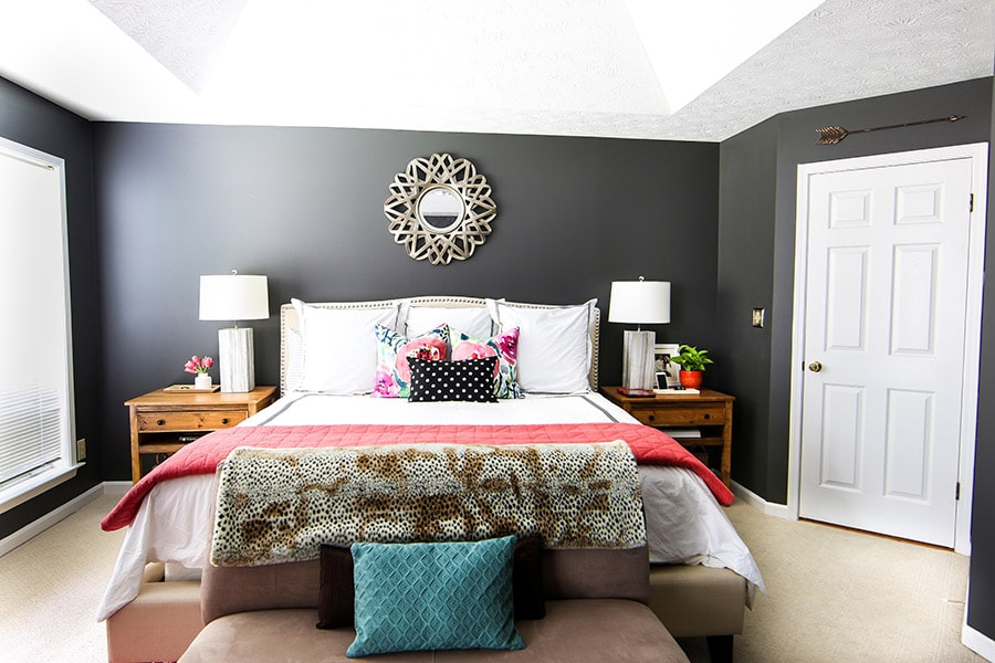 Spring Home Tour | Master Bedroom | Jen Woodhouse