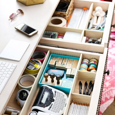 Easy DIY Drawer Dividers