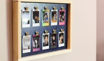 DIY Fuji Instax Photo Frame
