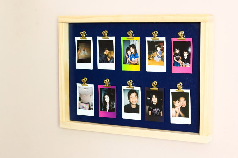 How to make a Fuji Instax picture frame