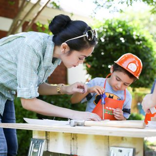 Host a fun construction-themed kids party with supplies from The Home Depot! What a fun party idea!