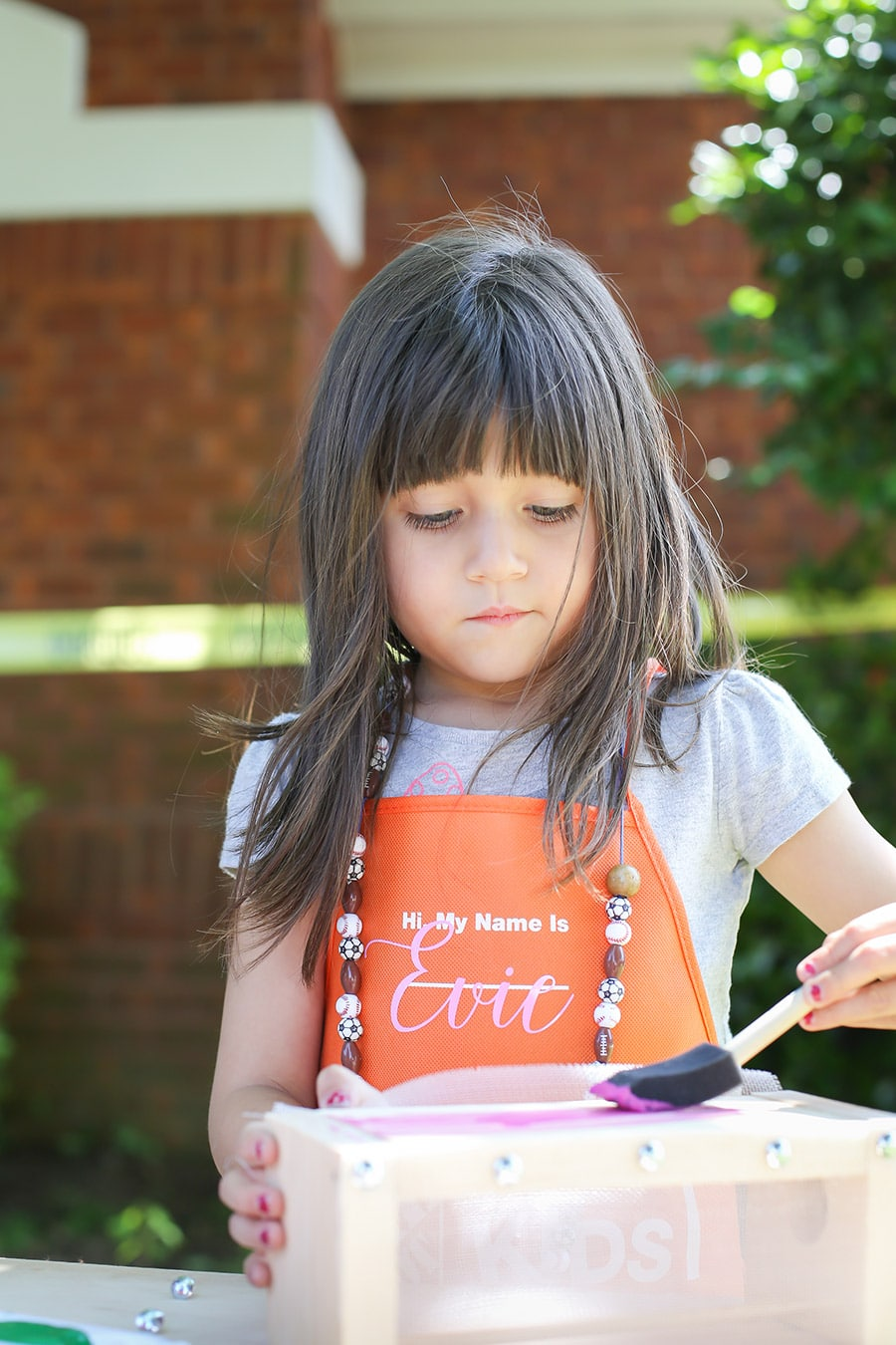 Host a fun kids party with Home Depot workshop building kits!