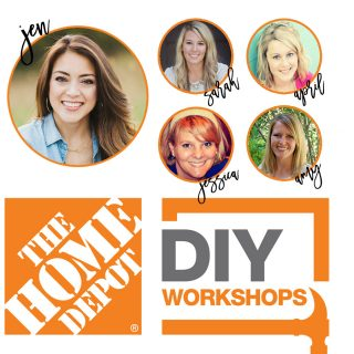 Register to attend a free DIY Workshop at The Home Depot!