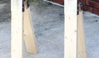 Easiest DIY Sawhorses Ever