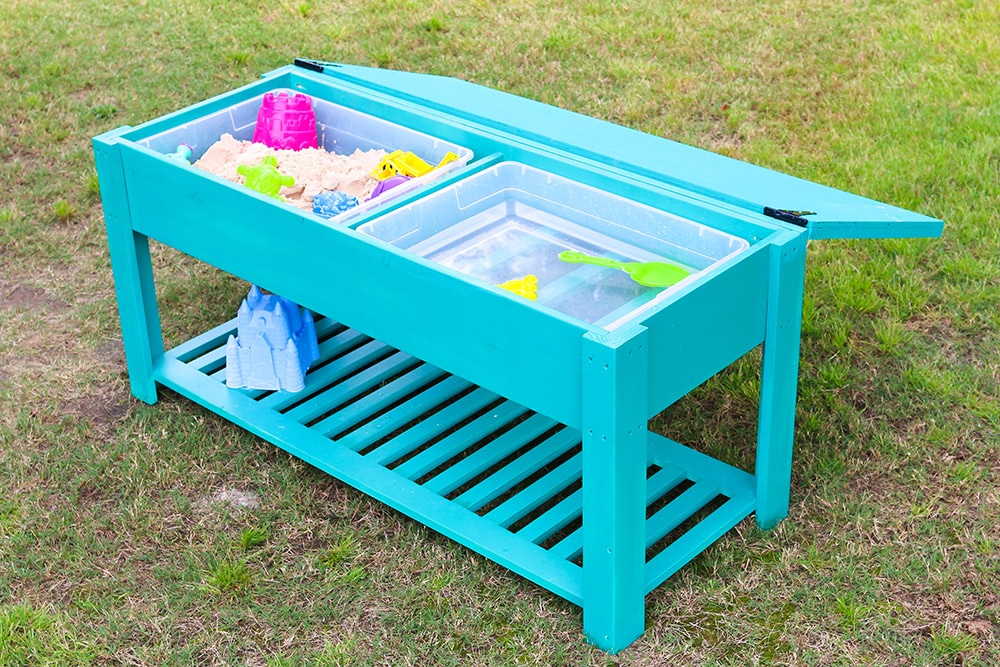 How to make a sand and water table for Diy sand and water table pvc