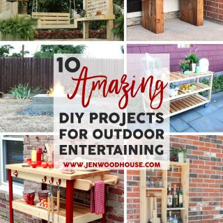 Spruce up your backyard with these 10 amazing DIY project ideas that will take your outdoor entertaining to the next level!