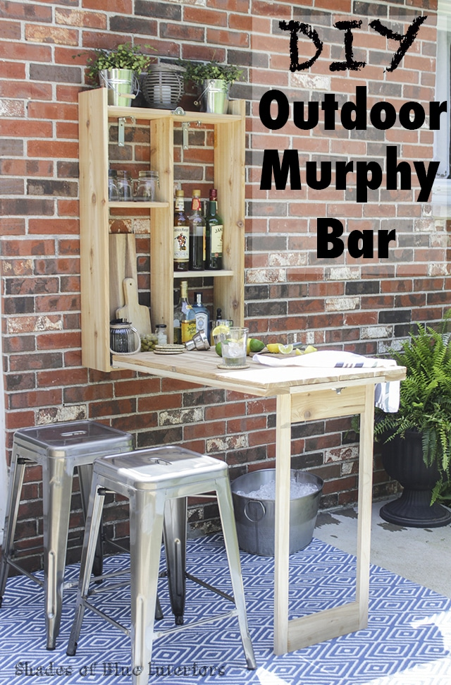 How to build an outdoor murphy bar