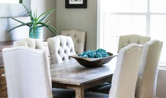 Easy 5-Step DIY Farmhouse Table