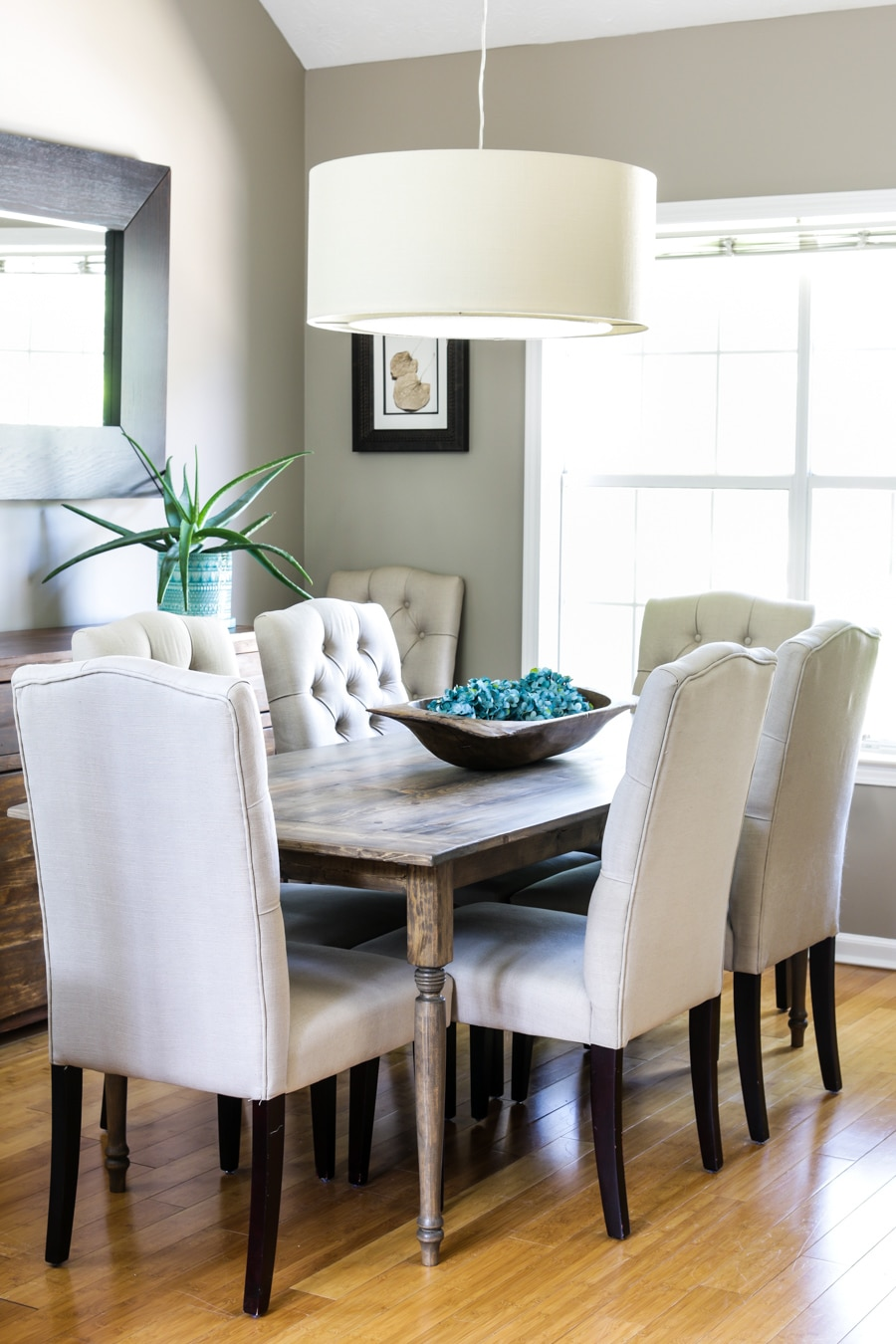 How To Build A DIY Farmhouse Table In 5 Easy Steps Easiest Dining