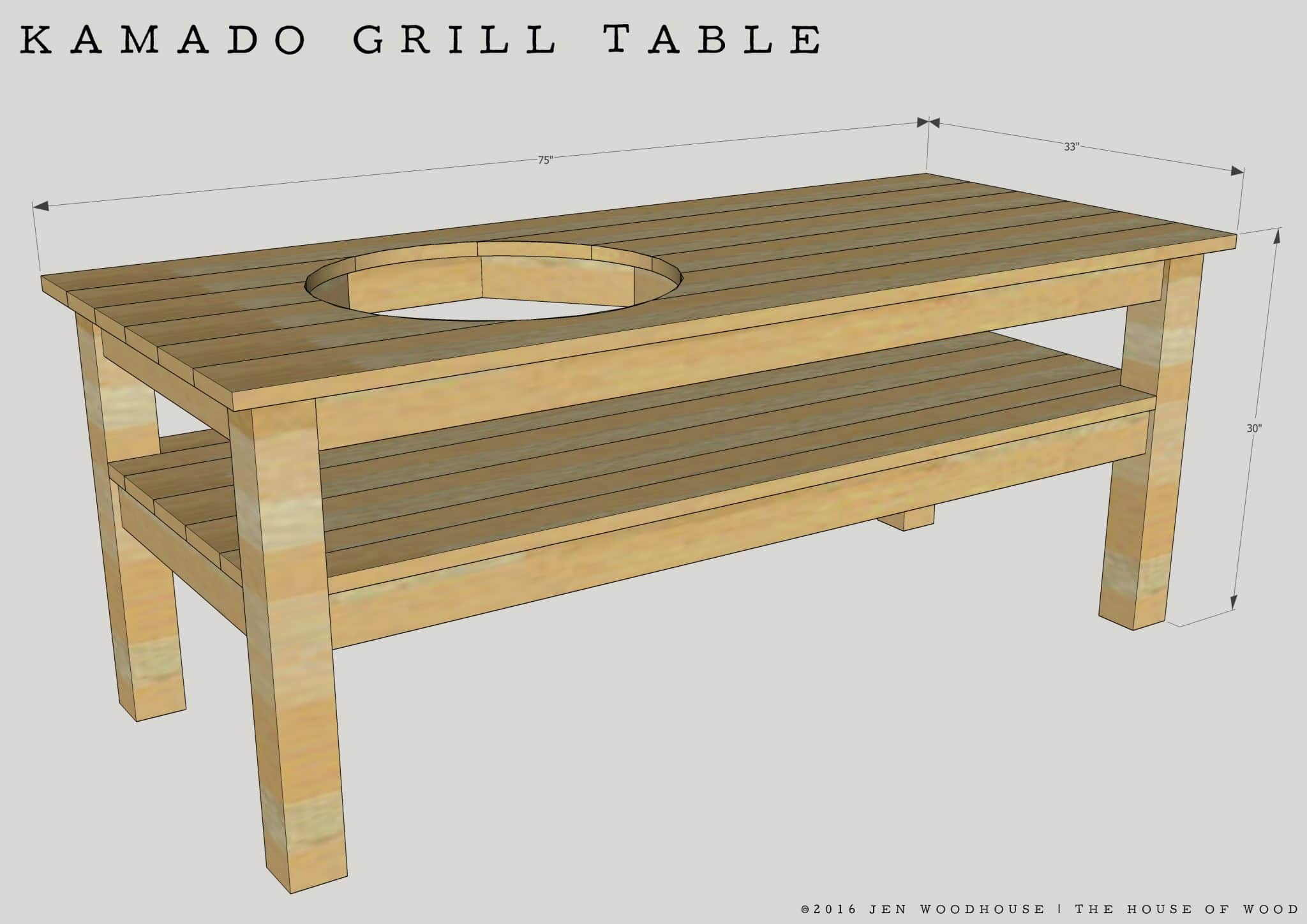Awe Inspiring Diy Kamado Grill Table Home Interior And Landscaping Eliaenasavecom