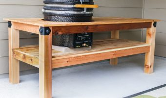 How To Build A Kamado Grill Table