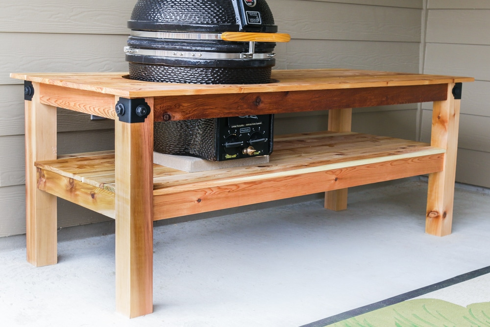how to build a jag grill table