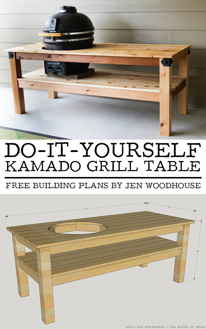 how to build a grill