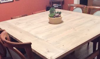 Amy's Square Farmhouse Table
