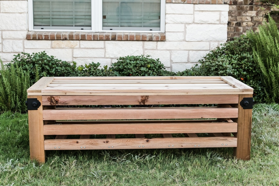 Cedar Ottoman Plans ~ Diy outdoor storage ottoman