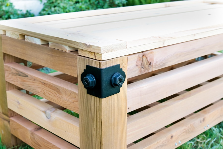 Build an outdoor storage ottoman with Simpson Strong-Tie