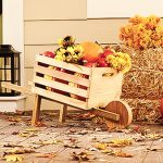 The Home Depot's DIH Workshop: Rustic Fall Wheelbarrow