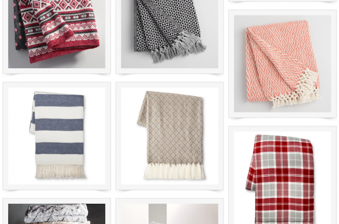 Stay warm during these cooler months with these cozy throw blankets.