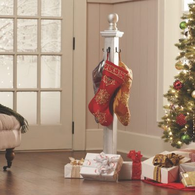 The Home Depot's DIY Workshop: Holiday Stocking Holder