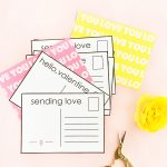 DIY Valentine's Postcards