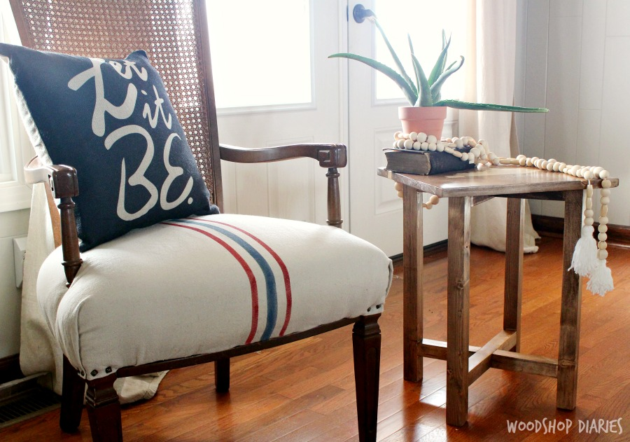 How to build a simple DIY side table