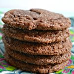 The BEST chewy chocolate cookies ever! Slightly crispy on the outside and chewy and fudgey on the inside! YUM!