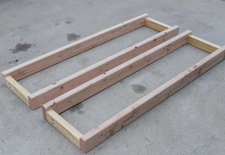Barn door loft bed side panels