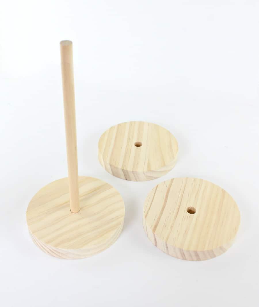 modern brass candleholders step 3