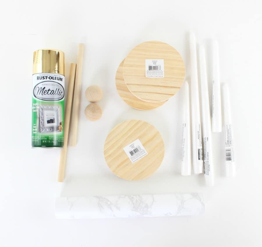 modern brass candleholders supplies