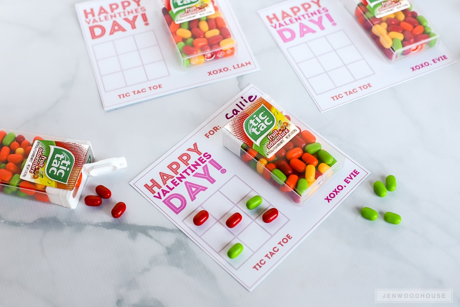 Valentines Day Ideas: Tic Tac Toe Valentines