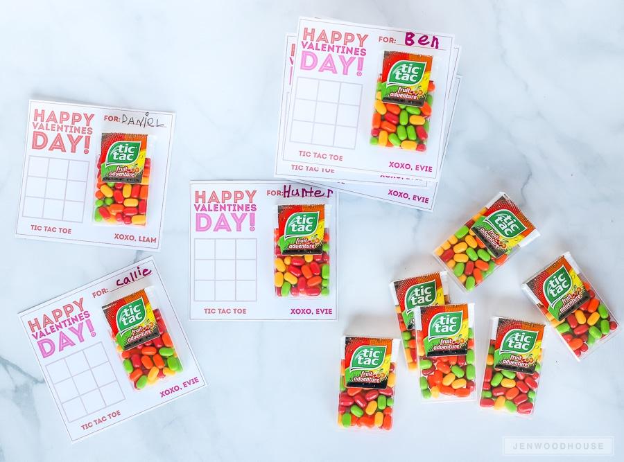 Kids Valentines Ideas: Tic Tac Toe Valentines