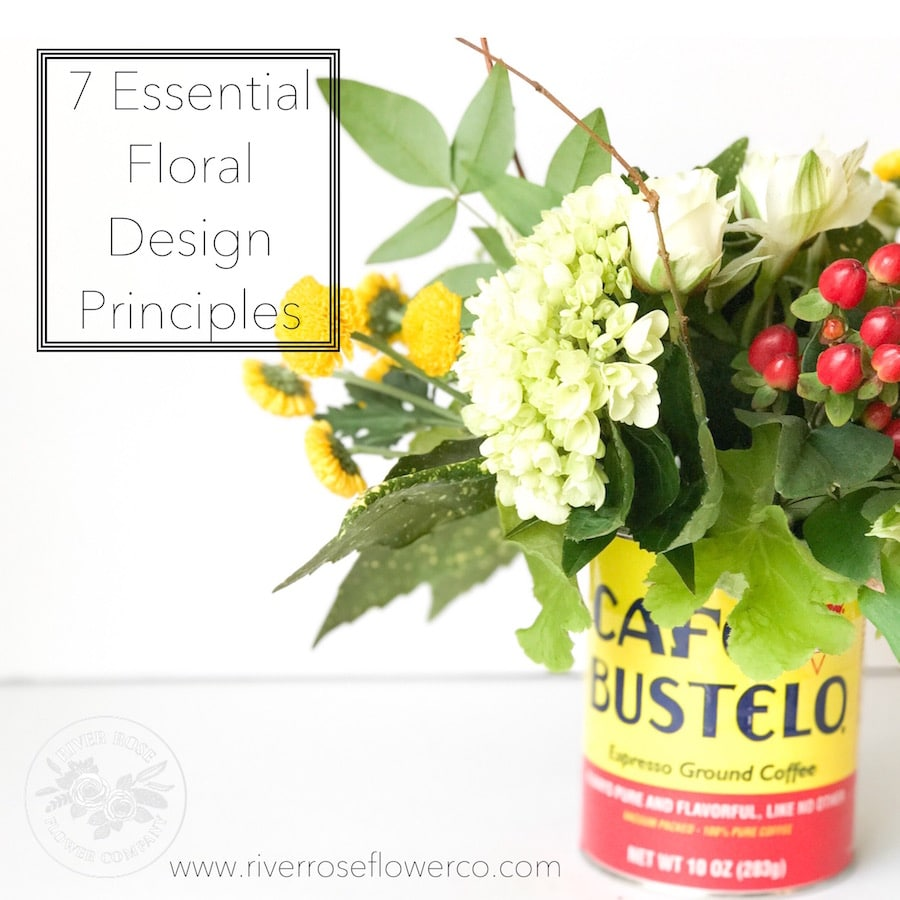 7 Essential floral design principles - arrange flowers like a pro