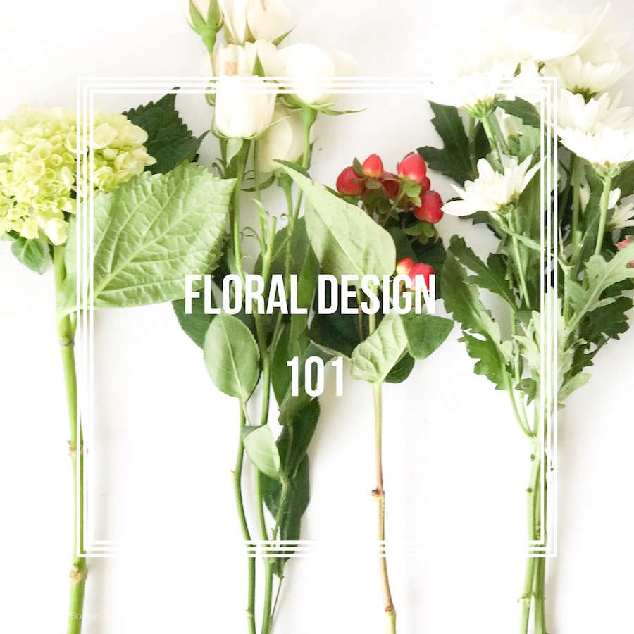 Learn the basics of floral design to create a beautiful flower arrangement