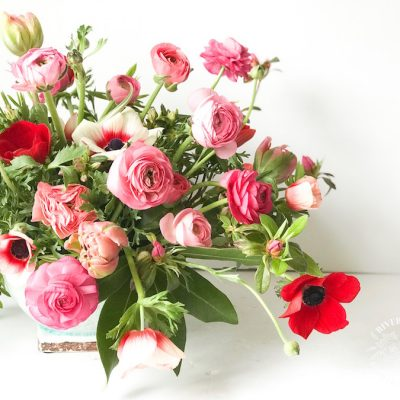How To Make a Stunning Spring Floral Arrangement