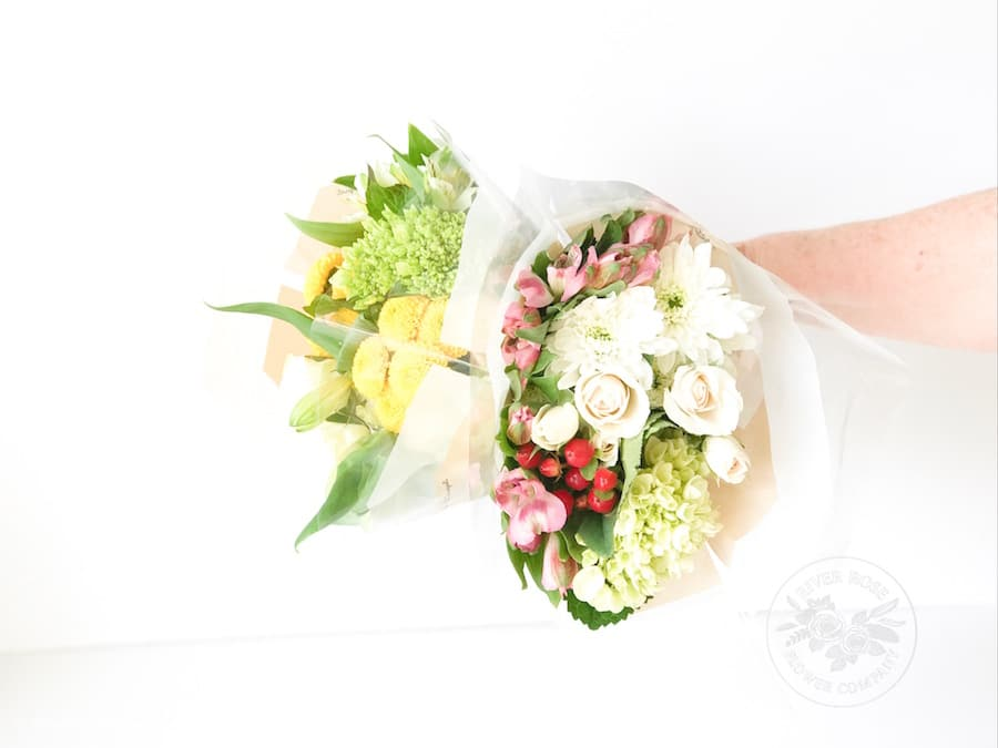 Turn grocery store flowers into a designer bouquet with this easy Floral Design tutorial.