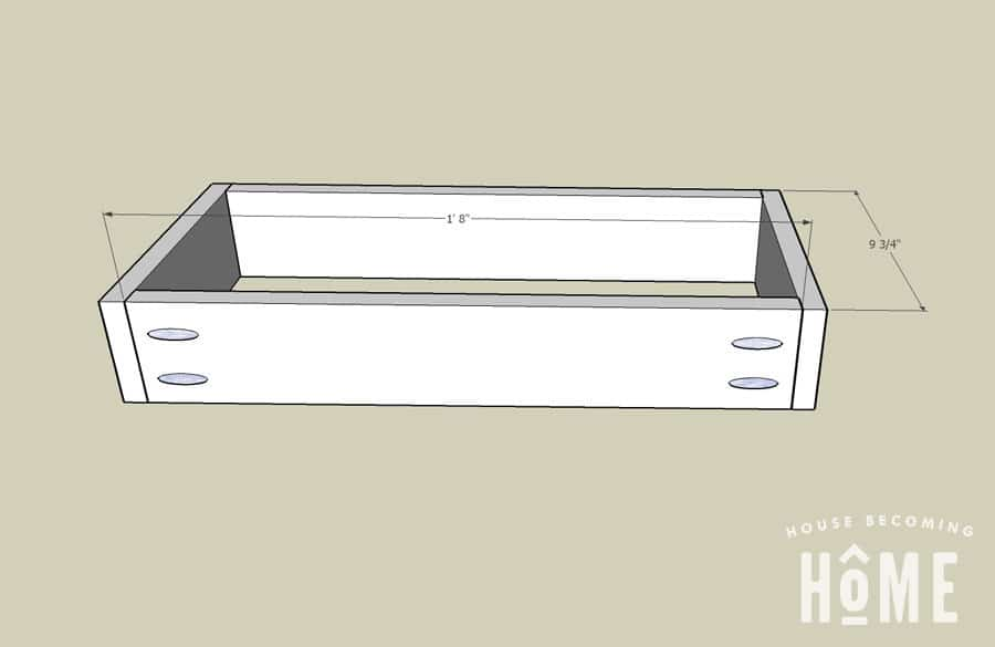 dimensions of drawers