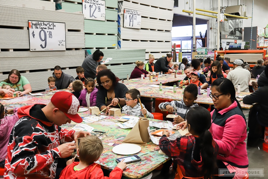 The Home Depot Kids Workshop - a fun way to spend a Saturday!