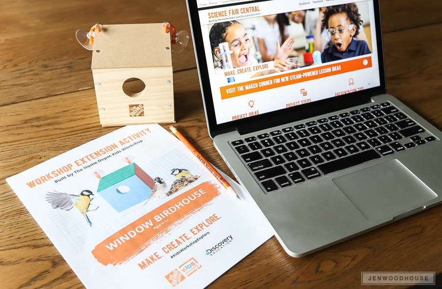 The Home Depot Kids Workshop Extension Activity