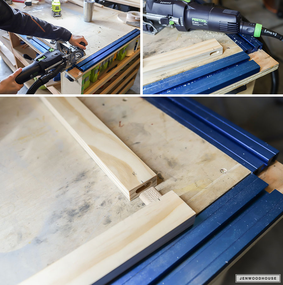 How to make a wooden frame using mortise and tenon joinery