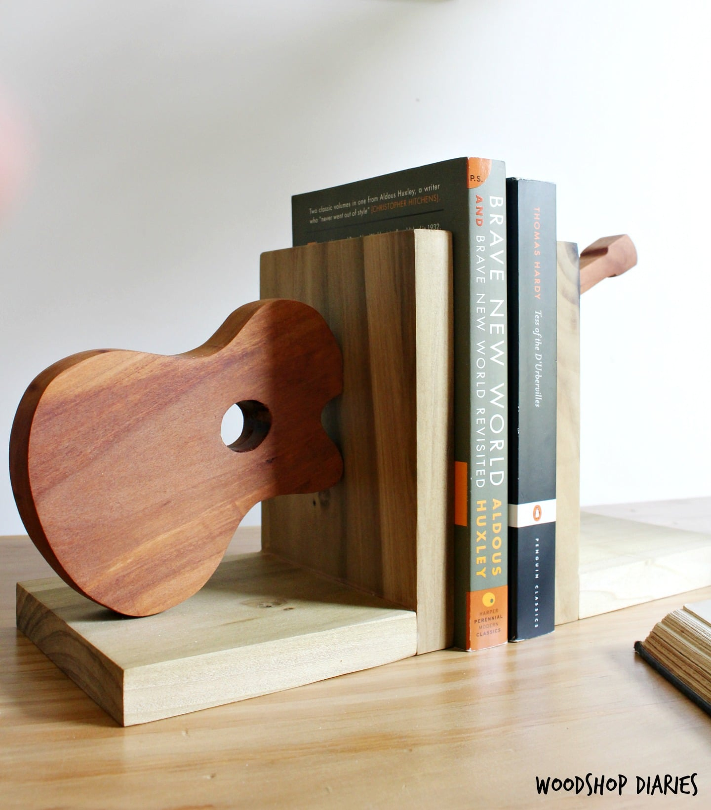 How to use Scrap Wood to make your own Bookends