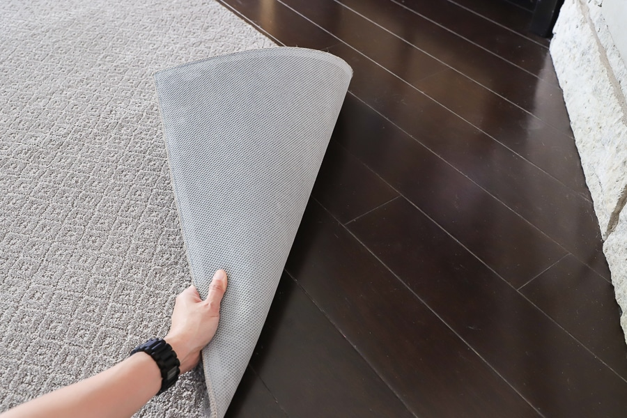Order PetProof pet-friendly carpet from The Home Depot with the non-skid rug pad!
